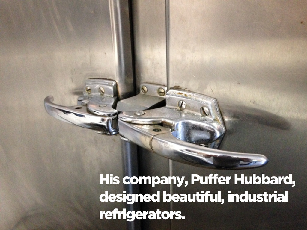 His company, Puffer Hubbard, designed beautiful...