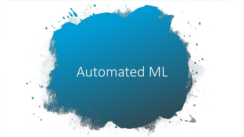 Automated ML