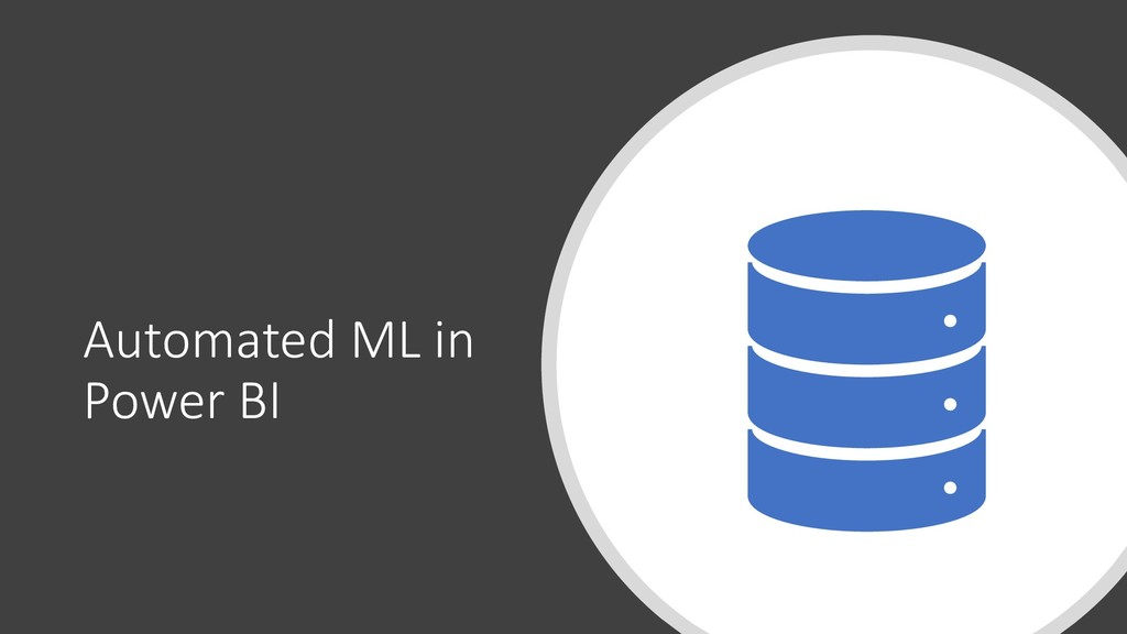Automated ML in Power BI