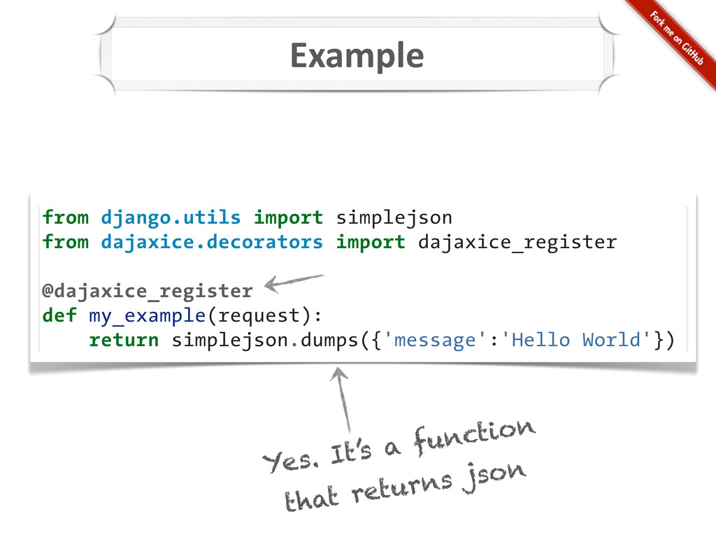 Example from django.utils import simplejson fro...