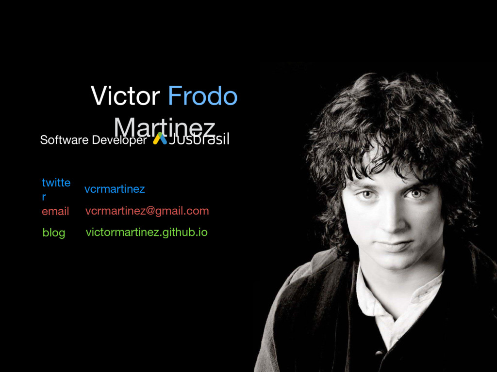 vcrmartinez twitte r email blog Victor Frodo Ma...