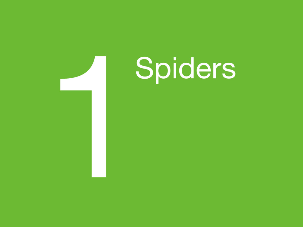 1Spiders