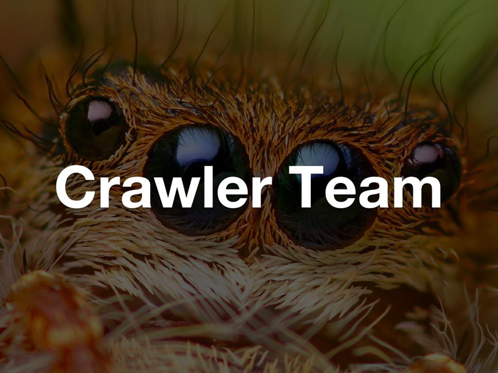 Crawler Team
