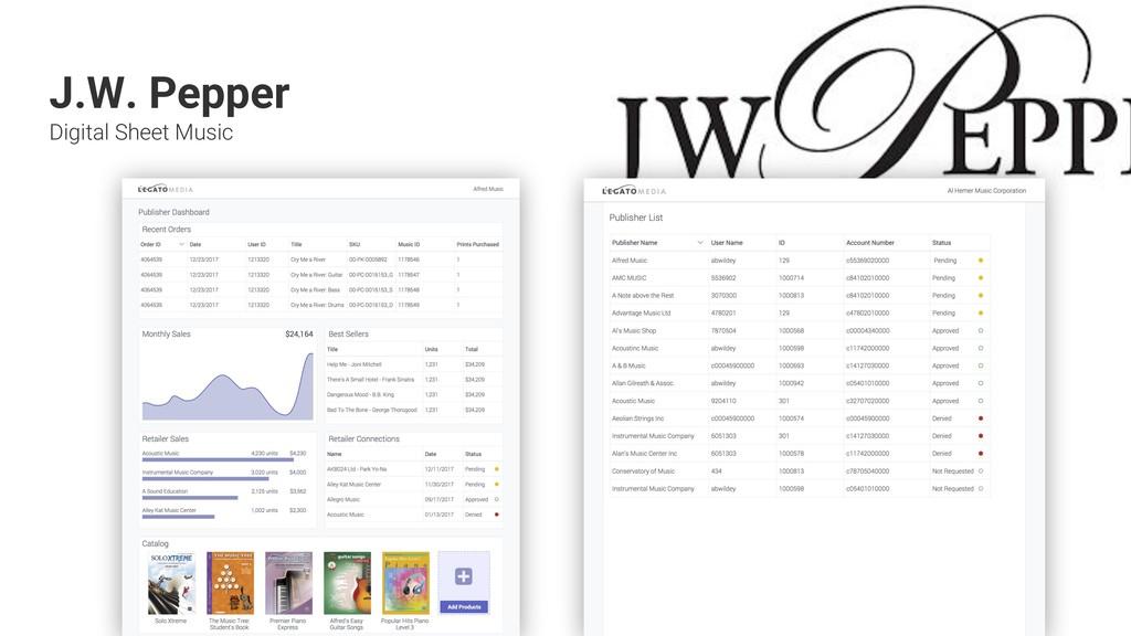 + + + + + + + + + + J.W. Pepper Digital Sheet M...