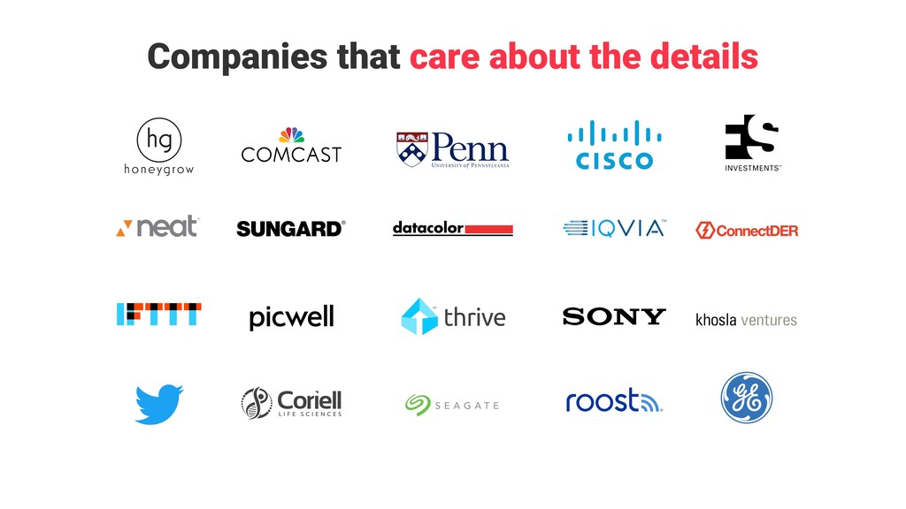 + + + + + + + + + + Companies that care about t...