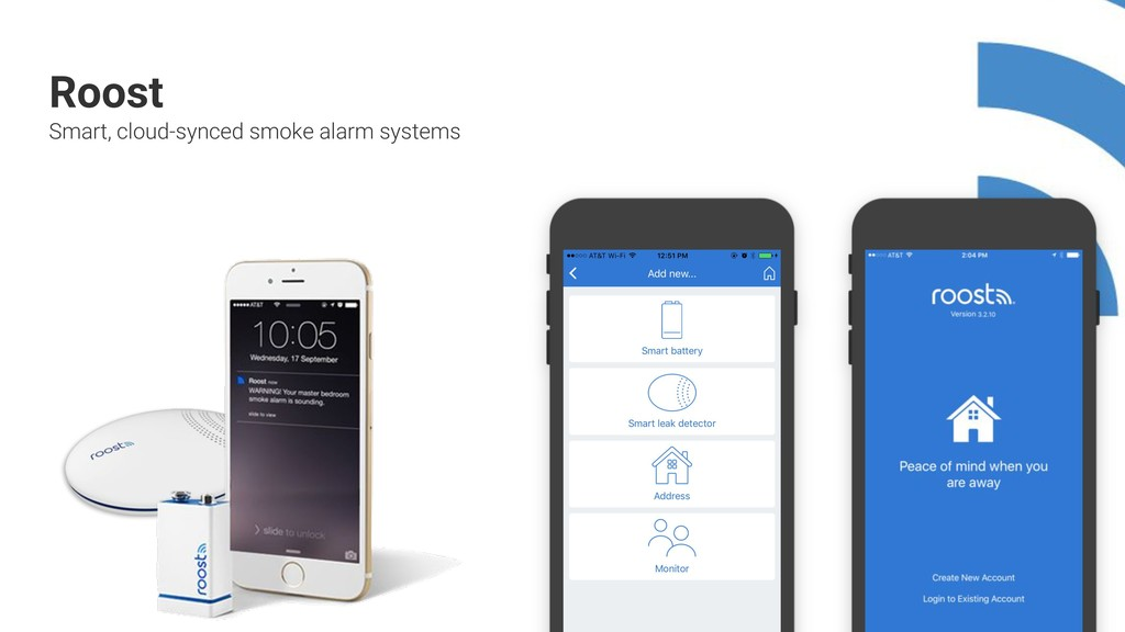 + + + + + + + + + + Roost Smart, cloud-synced s...