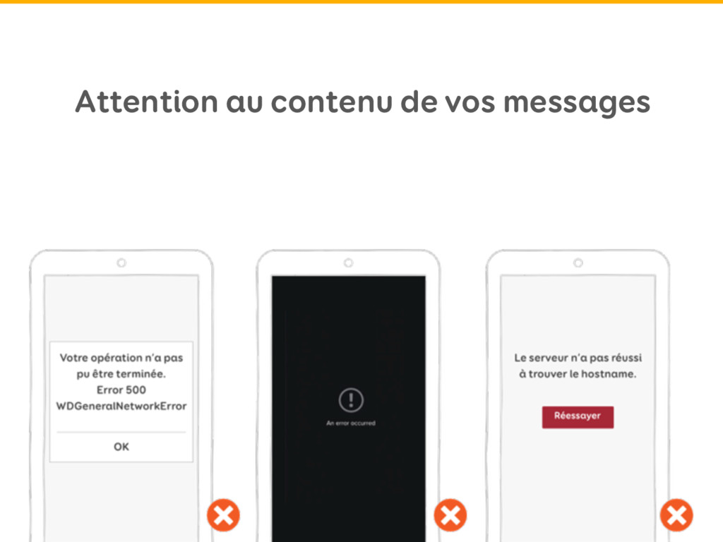 Attention au contenu de vos messages