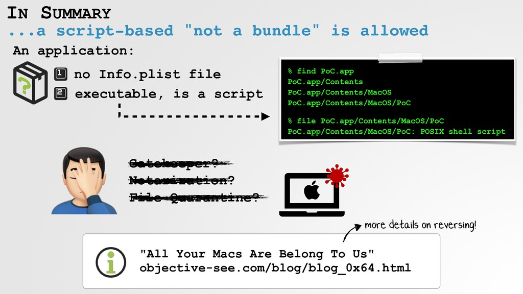 """IN SUMMARY ...a script-based """"not a bundle"""" is ..."""