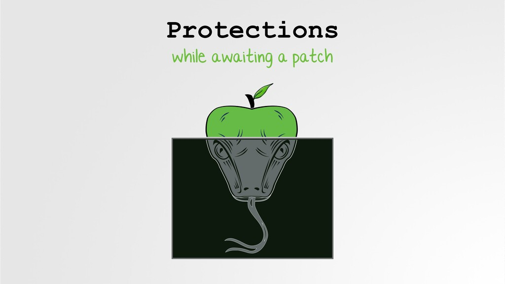 Protections while awaiting a patch