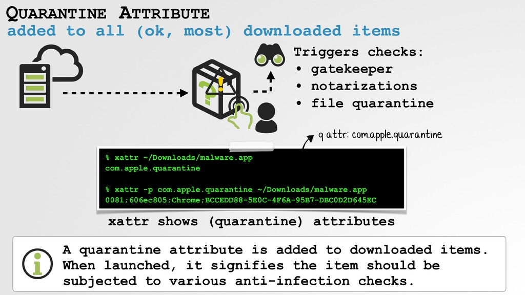 QUARANTINE ATTRIBUTE added to all (ok, most) do...