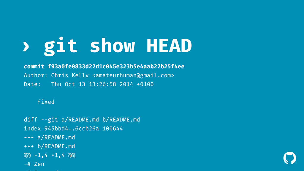 ! git show HEAD › commit f93a0fe0833d22d1c045e3...