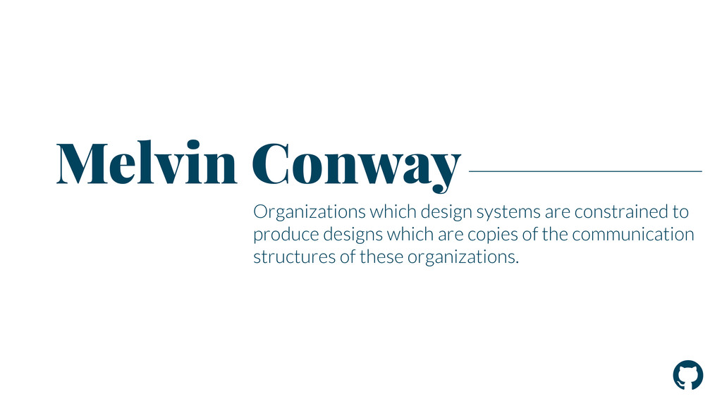 ! Organizations which design systems are constr...