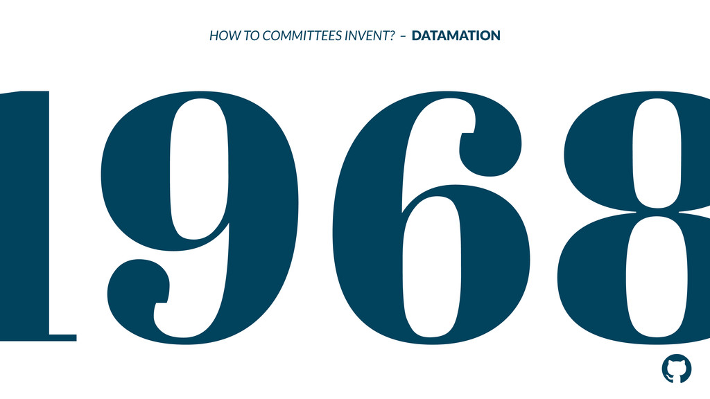 ! 1968 HOW TO COMMITTEES INVENT? – DATAMATION !