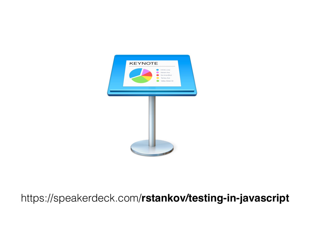 https://speakerdeck.com/rstankov/testing-in-jav...