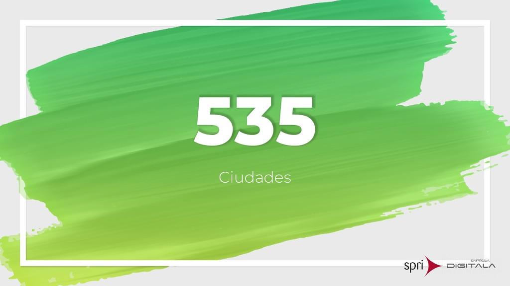 535 Ciudades