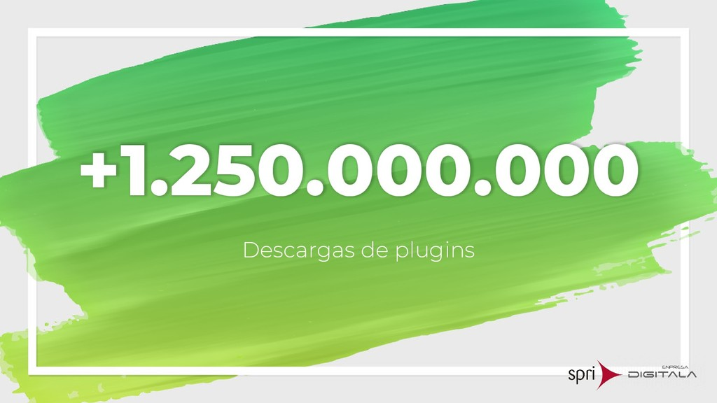 +1.250.000.000 Descargas de plugins