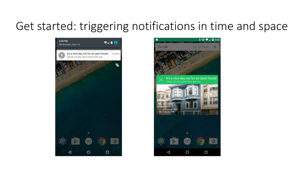 Get started: triggering notifications in time a...