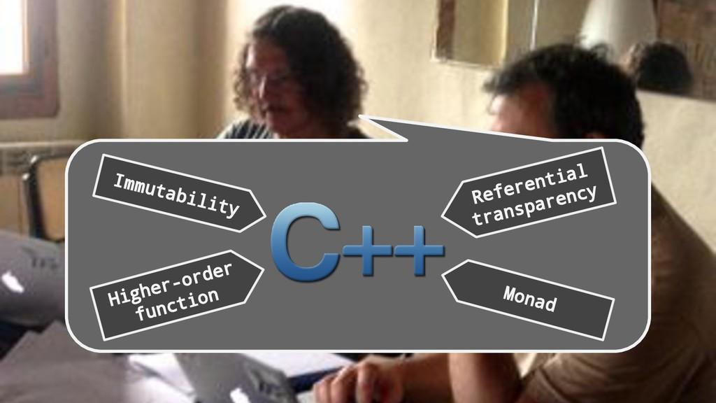 Immutability Higher-order function Monad Refere...
