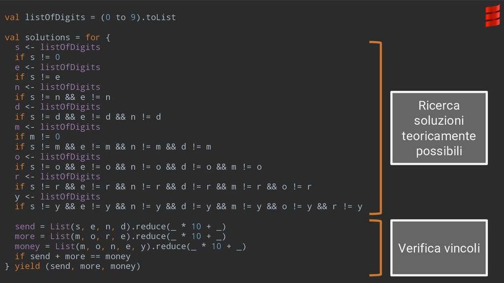 val listOfDigits = (0 to 9).toList val solution...