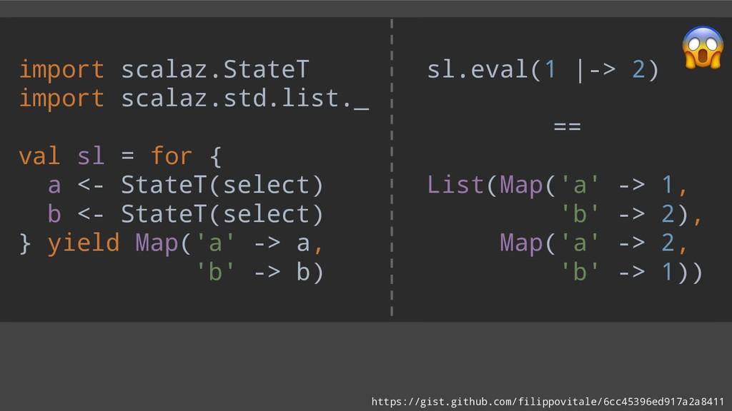 import scalaz.StateT import scalaz.std.list._ v...