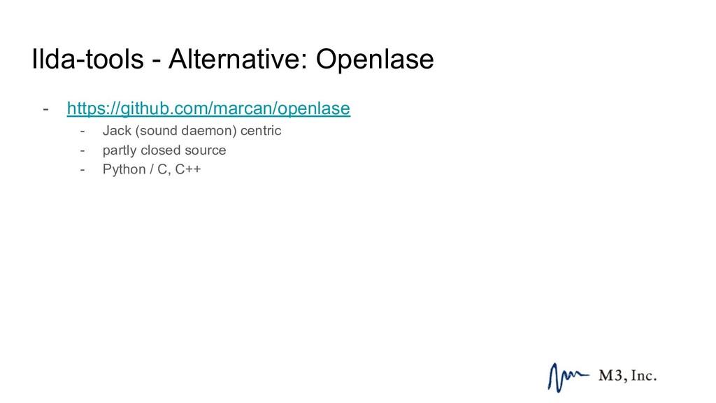 Ilda-tools - Alternative: Openlase - https://gi...