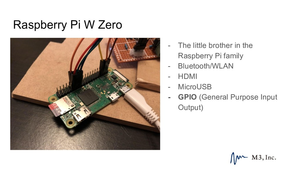 Raspberry Pi W Zero - The little brother in the...