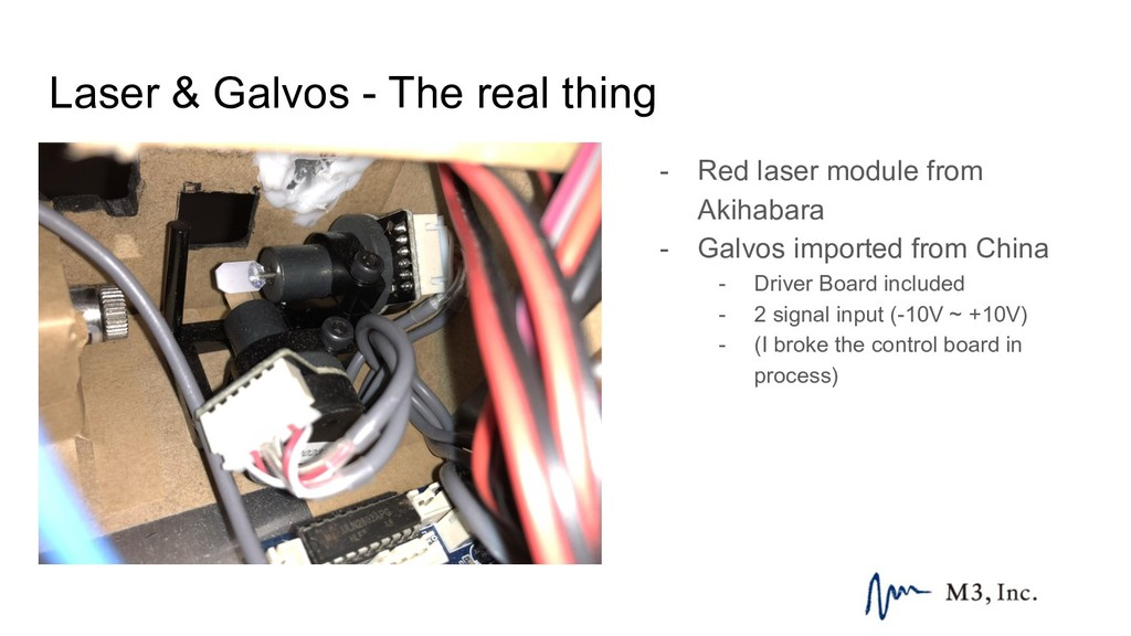Laser & Galvos - The real thing - Red laser mod...