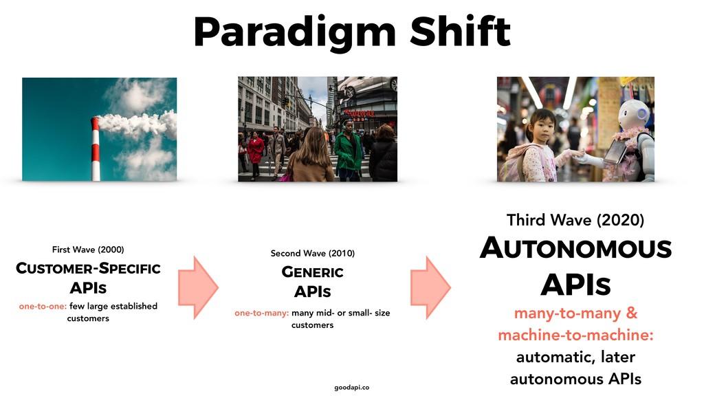 goodapi.co Paradigm Shift CUSTOMER-SPECIFIC API...