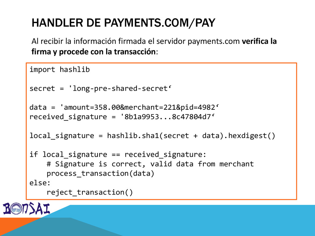 HANDLER DE PAYMENTS.COM/PAY import hashlib secr...