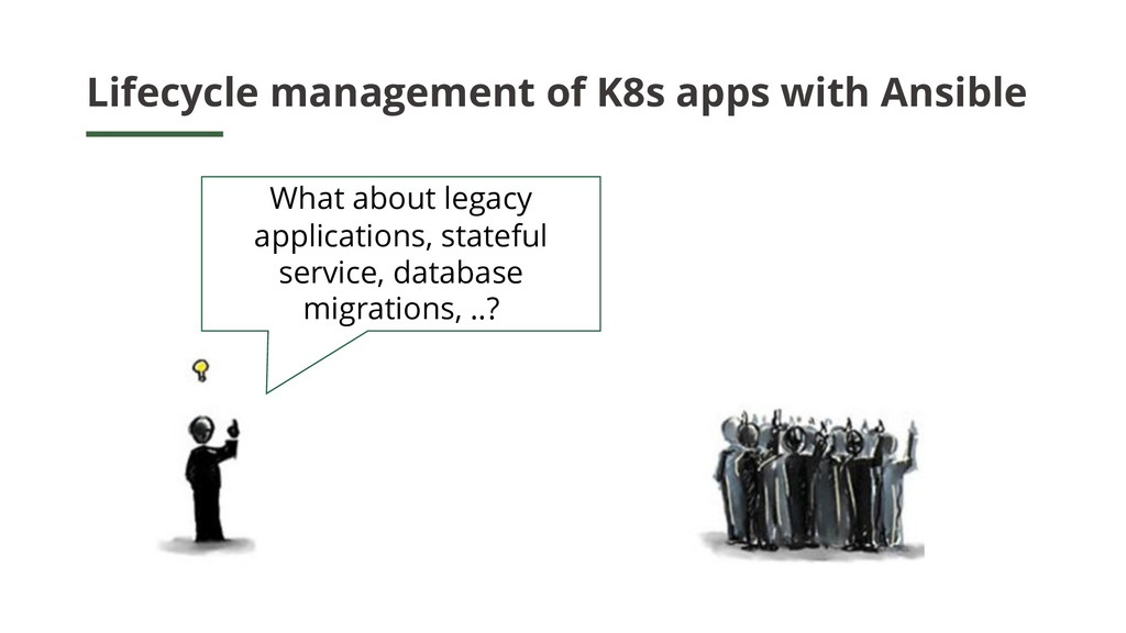 Lifecycle management of K8s apps with Ansible W...