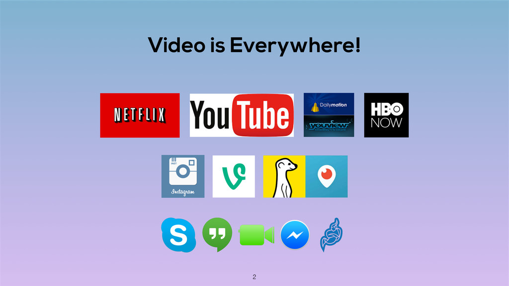 Video is Everywhere! 2
