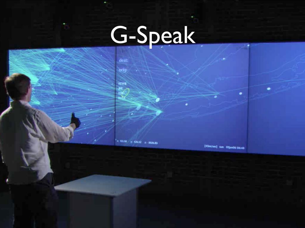 G-Speak
