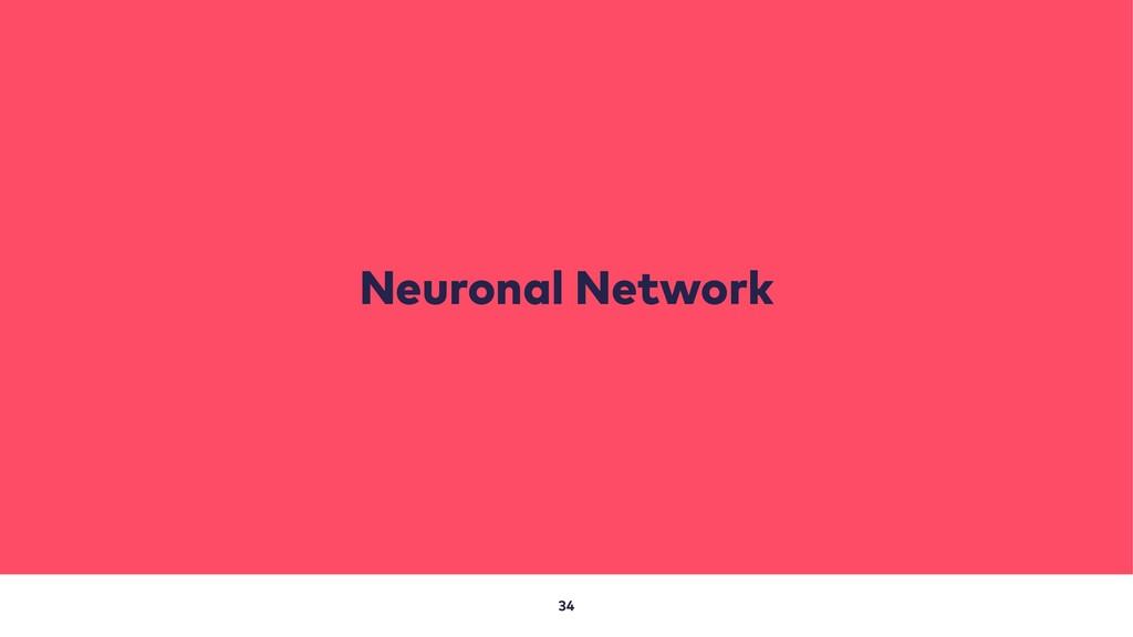 34 Neuronal Network