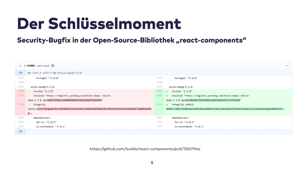 Der Schlüsselmoment 5 Security-Bugfix in der Op...