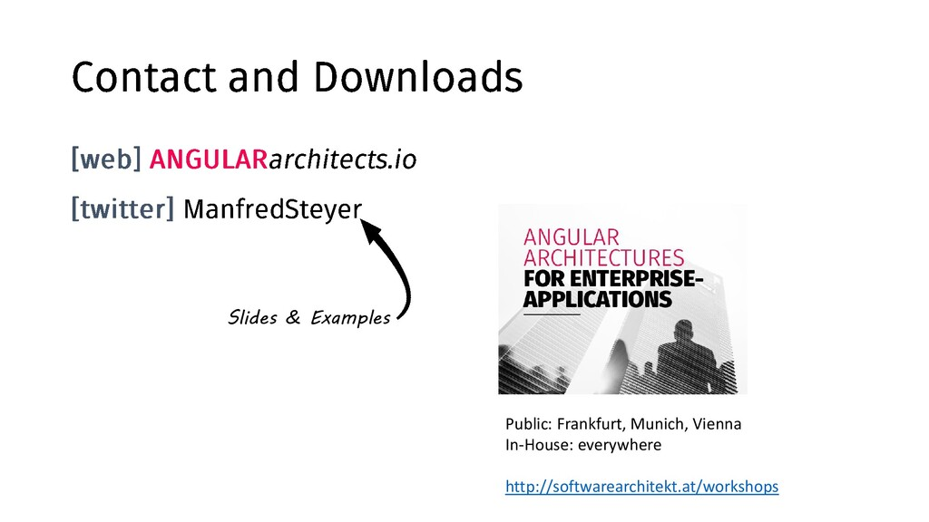 @ManfredSteyer d Slides & Examples Public: Fran...