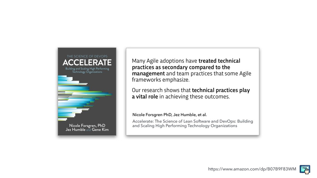 Many Agile adoptions have treated technical pra...