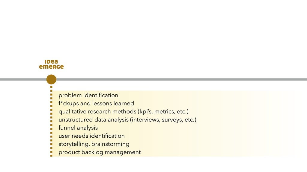 problem identification f*ckups and lessons learn...