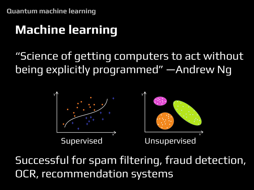 """Machine learning """"Science of getting computers ..."""