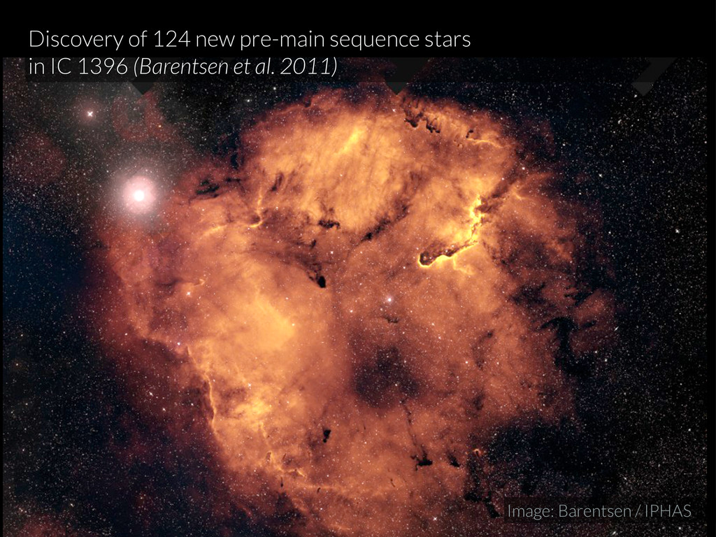 Discovery of 124 new pre-main sequence stars in...