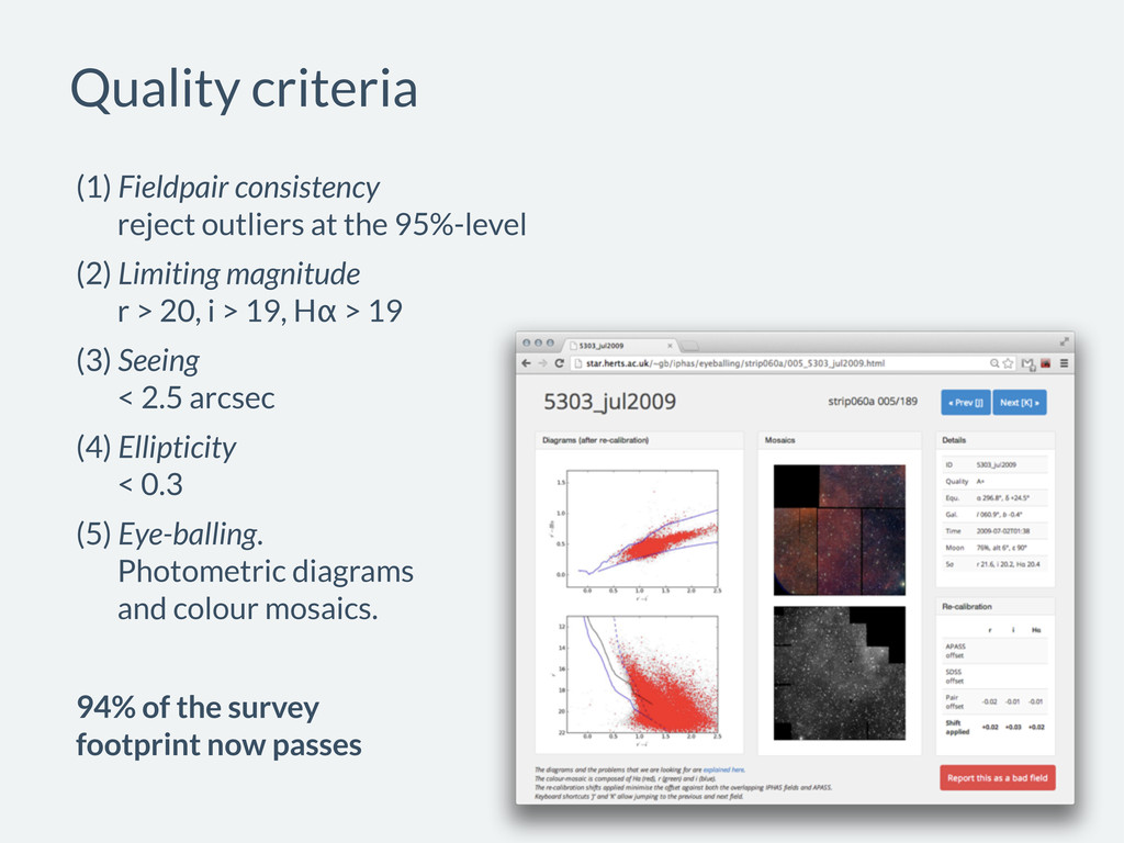 (1) Fieldpair consistency reject outliers at th...