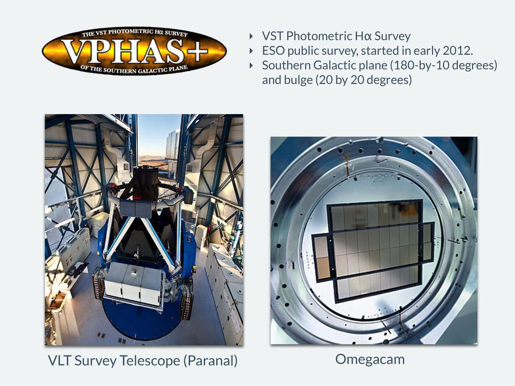 Omegacam VLT Survey Telescope (Paranal) ‣ VST P...