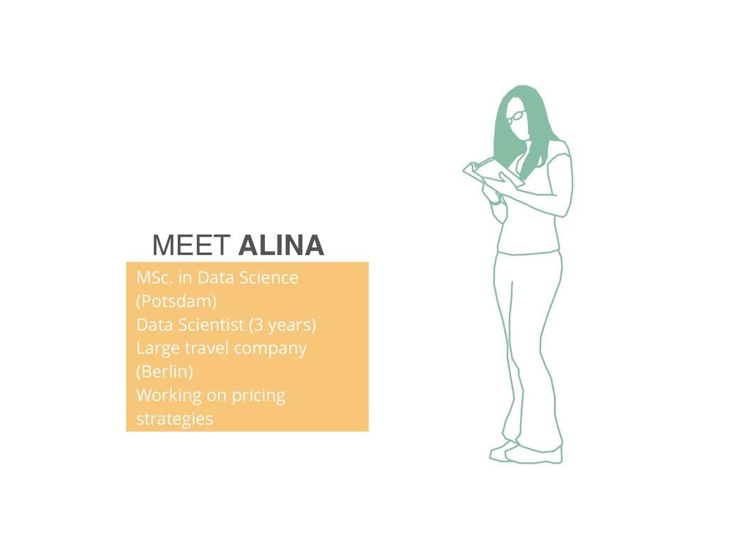 MEET ALINA MSc. in Data Science (Potsdam) Data ...