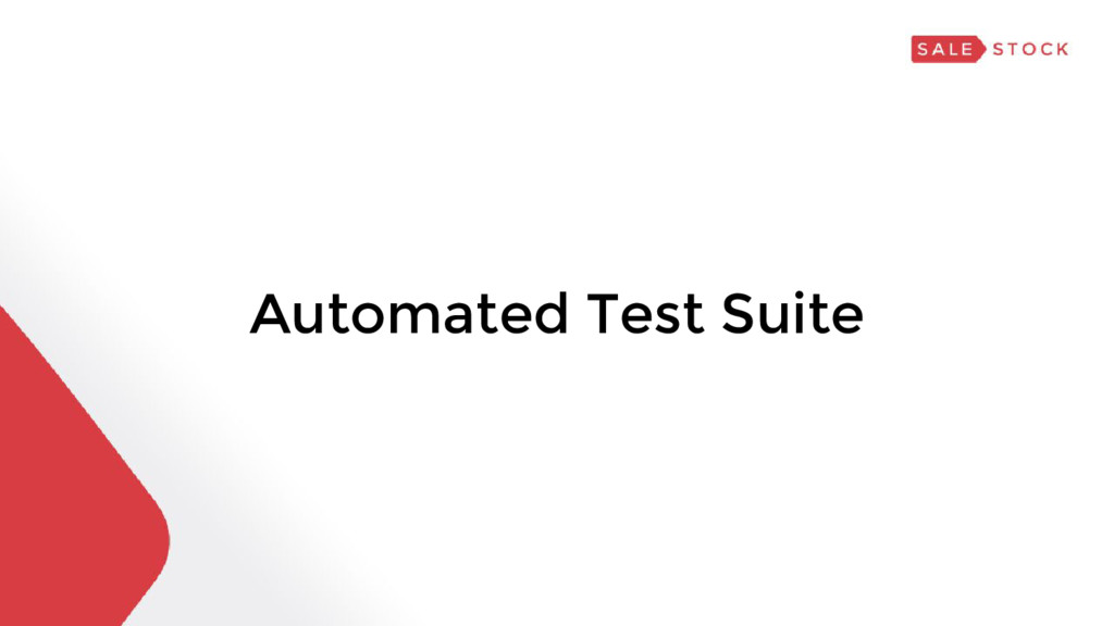 Automated Test Suite