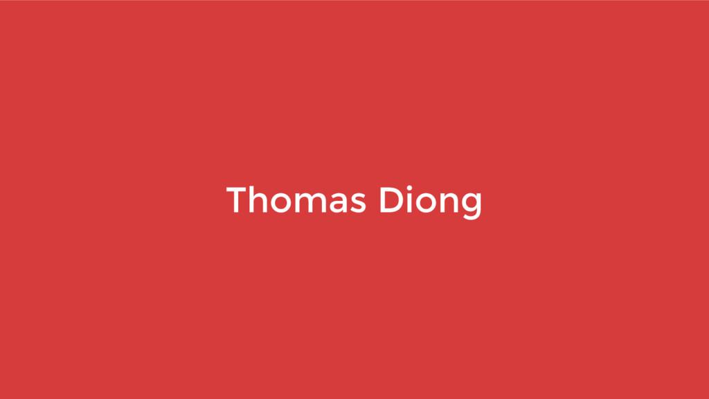 Thomas Diong