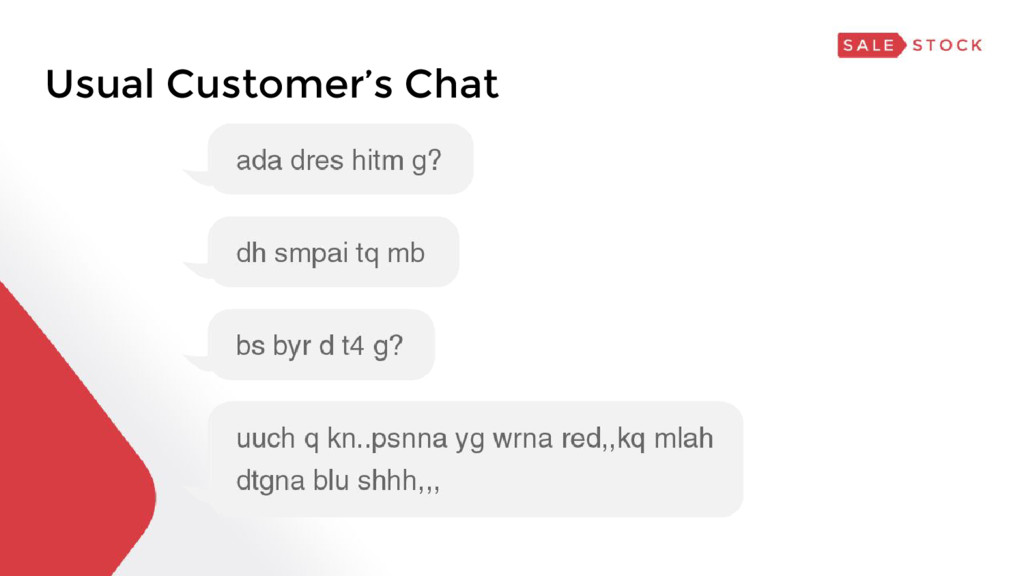 Usual Customer's Chat