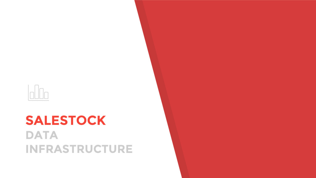 SALESTOCK DATA INFRASTRUCTURE