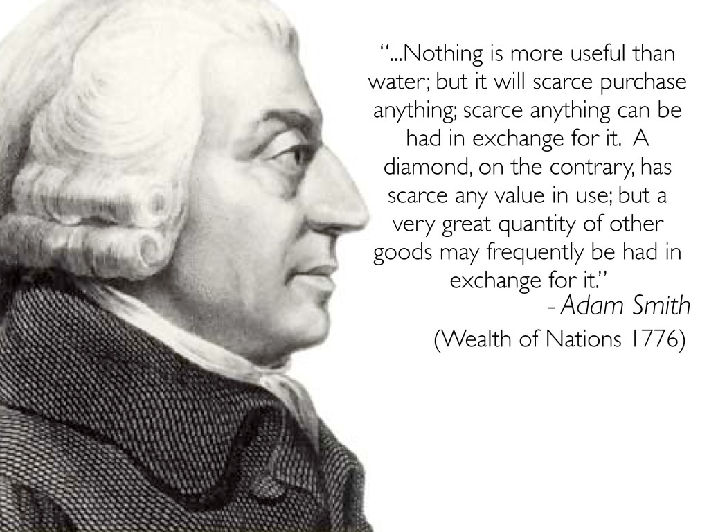"""""""...Nothing is more useful than water; but it w..."""