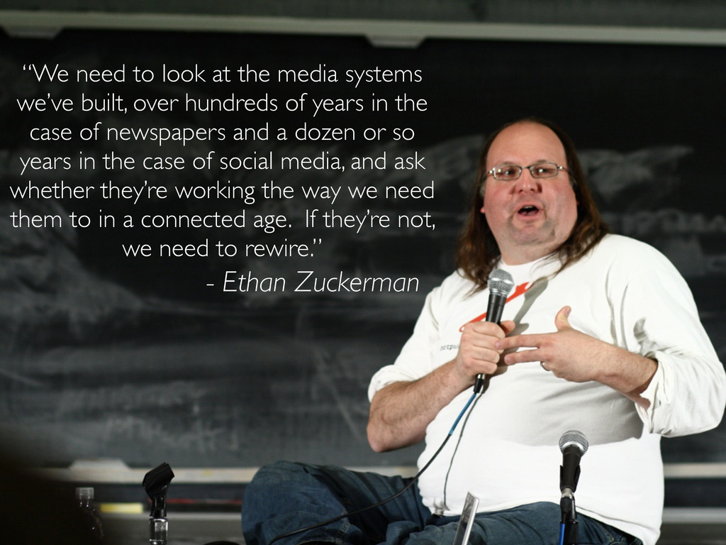 """""""We need to look at the media systems we've bui..."""