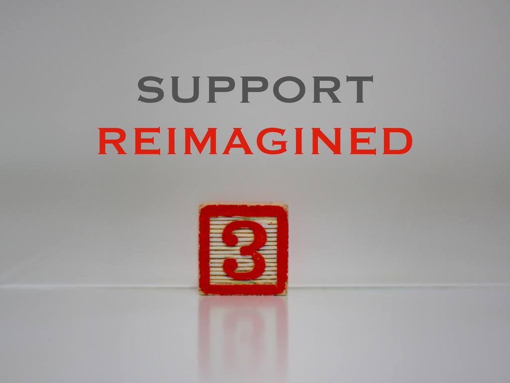 SUPPORT REIMAGINED