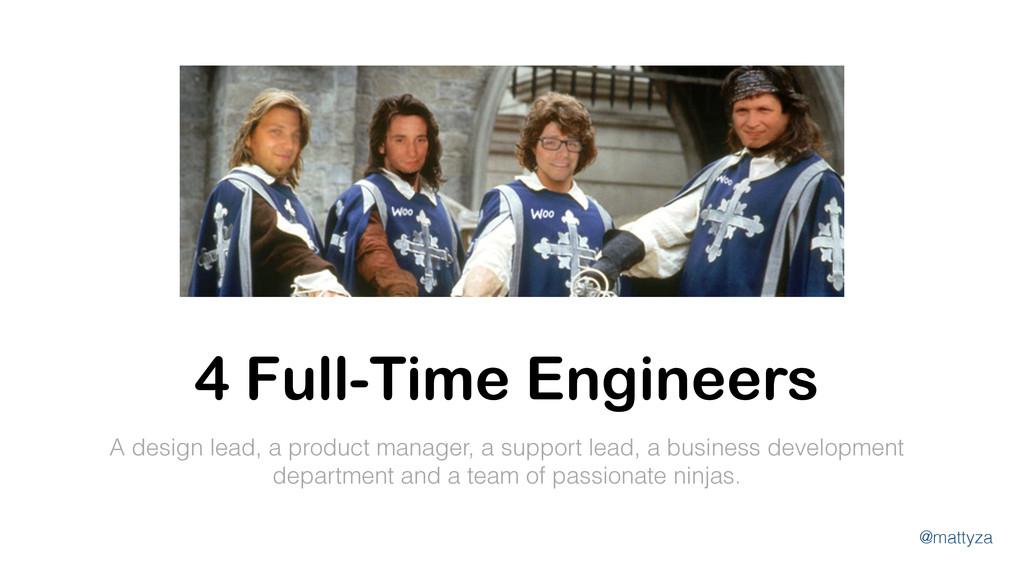 @mattyza A design lead, a product manager, a su...